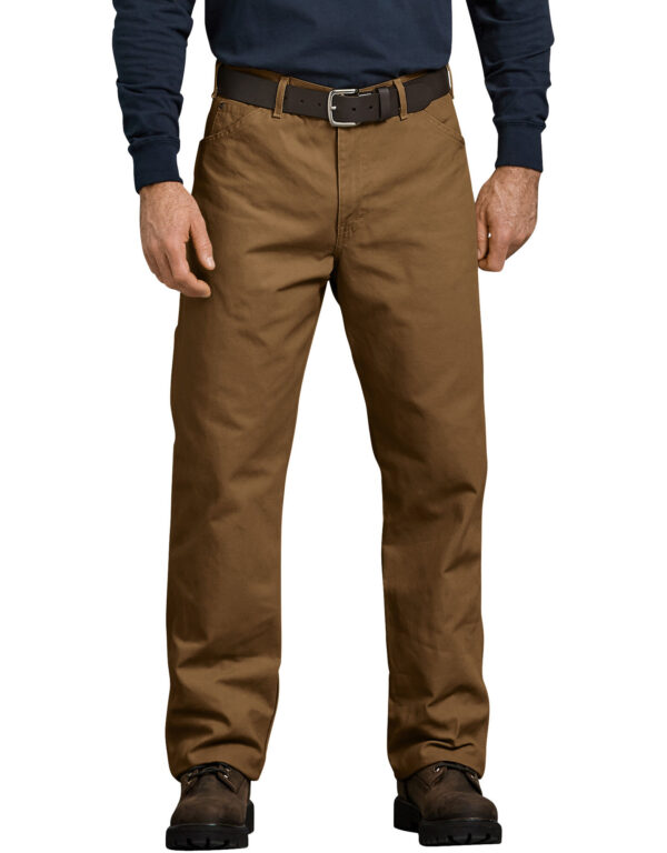 Relaxed Fit Straight Leg Carpenter Duck Jeans