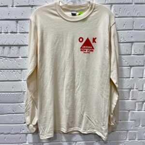 Long sleeve t-shirt with red triangle logo