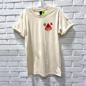 Cotton T-shirt with Red Triangle Logo
