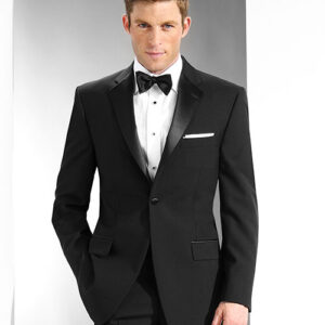 Men's 100% Polyester Notch Lapel Tuxedo 3002C