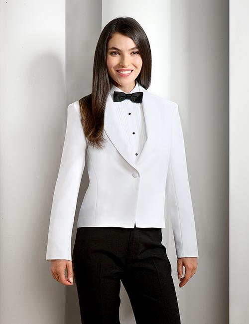 Women's White Eton jacket 5006CL