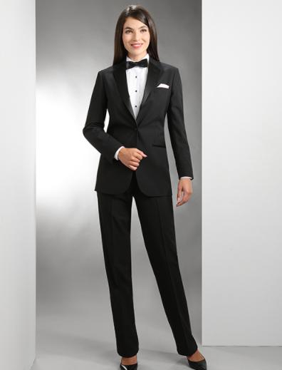 Women's Polyester Notch Lapel Tuxedo 3002CL