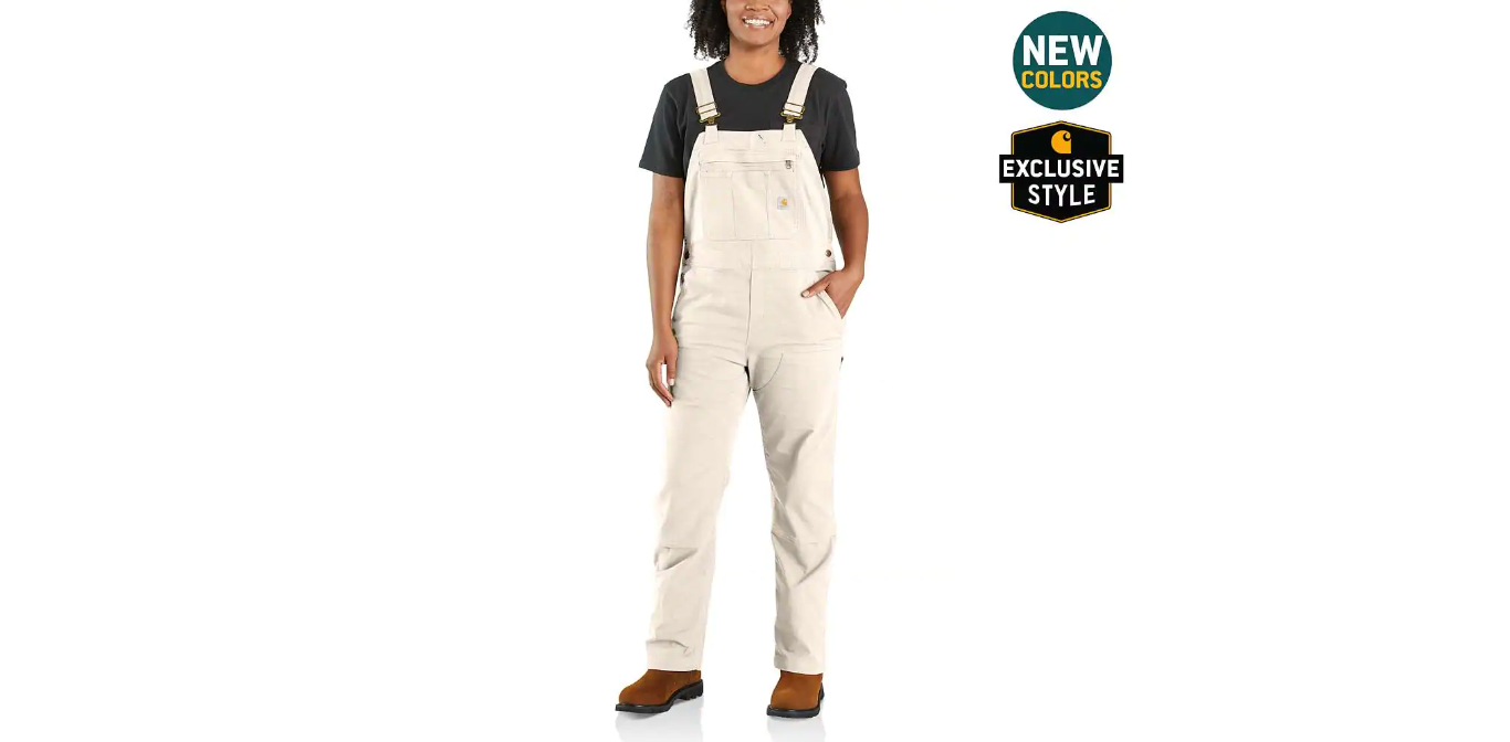 CRAWFORD DOUBLE-FRONT BIB OVERALL